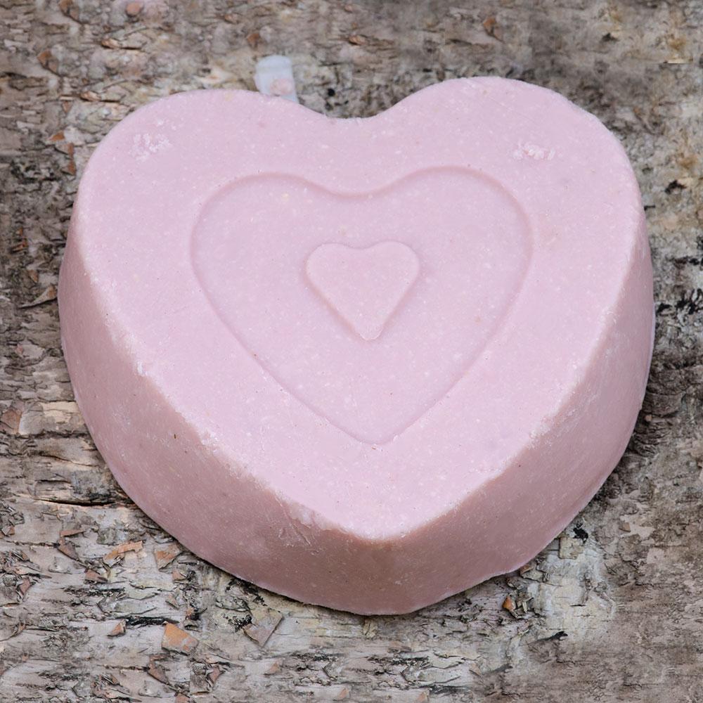 Pink Heart Suet Treat