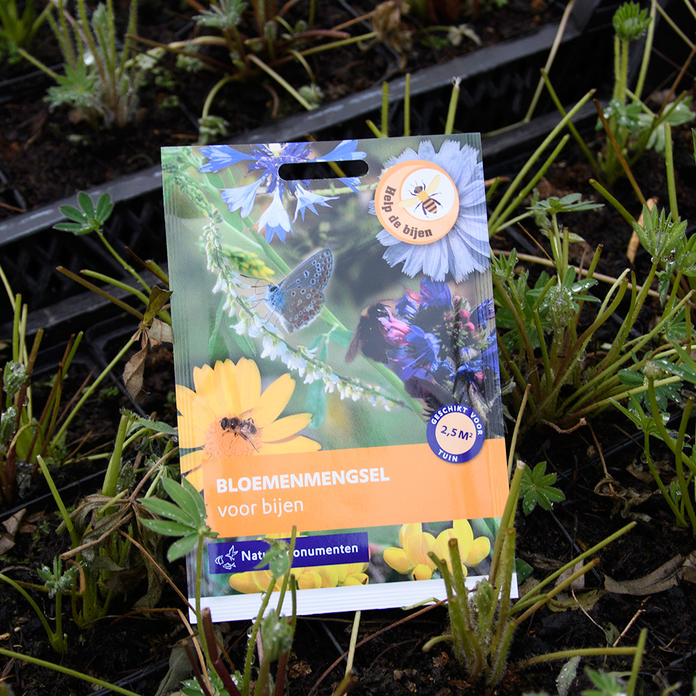 Natuurmonumenten zadenmix voor bijen (5g)