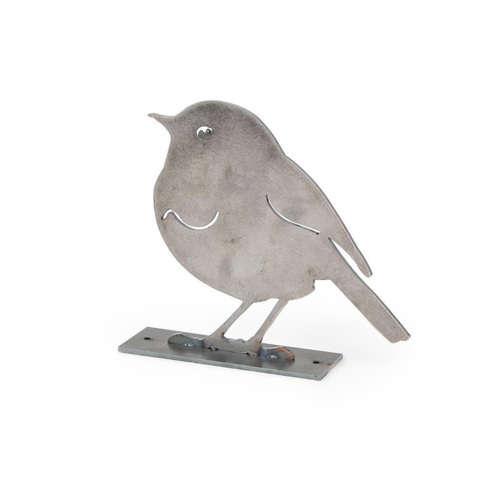 Metalen vogel Roodborstje