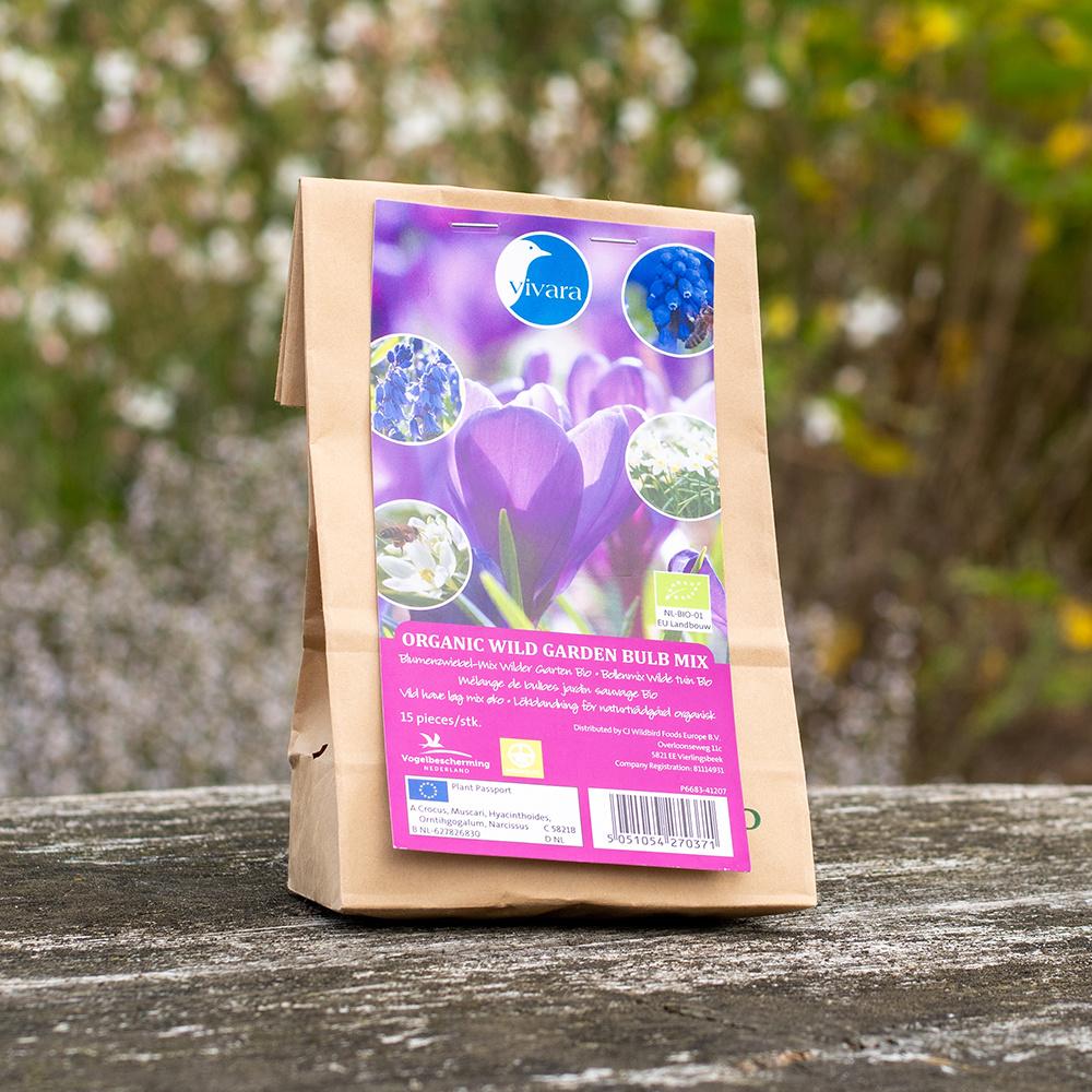 Biologische Bollenmix Wilde bijen Tuin - 15 stuks