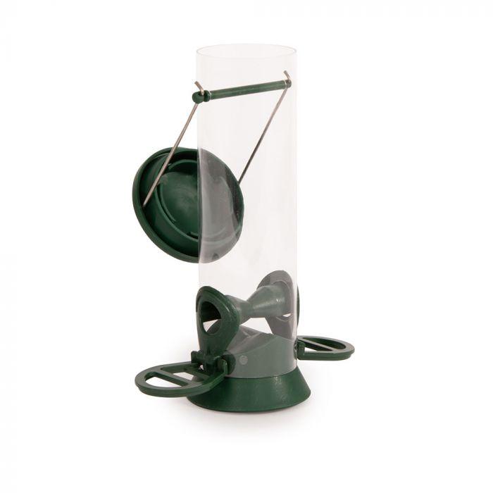 Voedersilo Kunststof 23 cm groen
