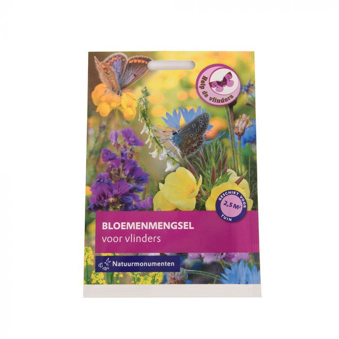 Natuurmonumenten 5g Zadenmix voor vlinders