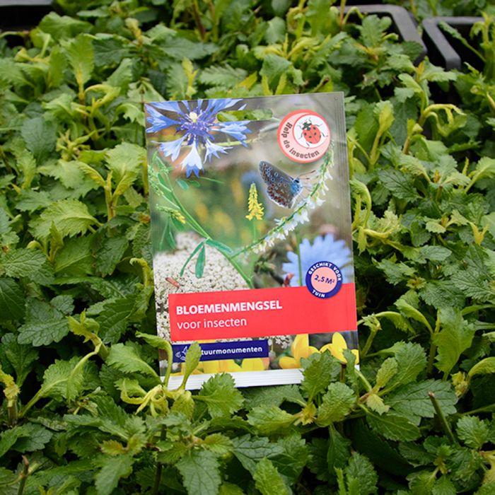 Natuurmonumenten zadenmix voor insecten (5g)