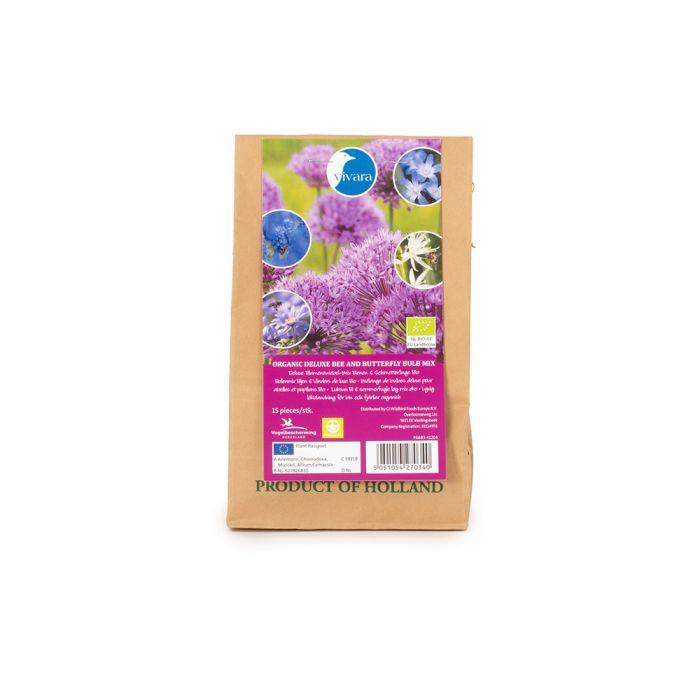 Biologische Bollenmix Bijen & Vlinders De Luxe - 15 stuks