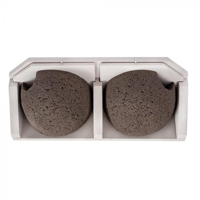Kunstnest Huiszwaluw dubbel, uitneembaar