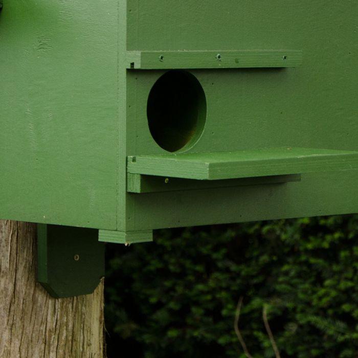 Nestkast voor steenmarter en boommarter