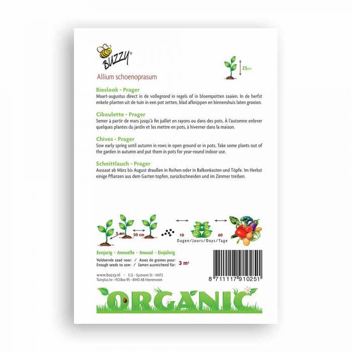 Buzzy® Organic Bieslook Prager  (BIO)