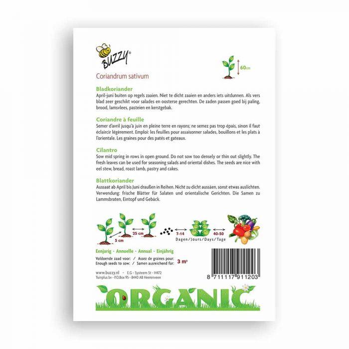 Buzzy® Organic Koriander (BIO)