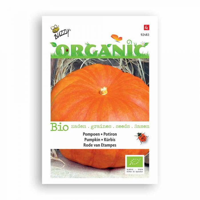 Buzzy® Organic Pompoen Etampes (BIO)