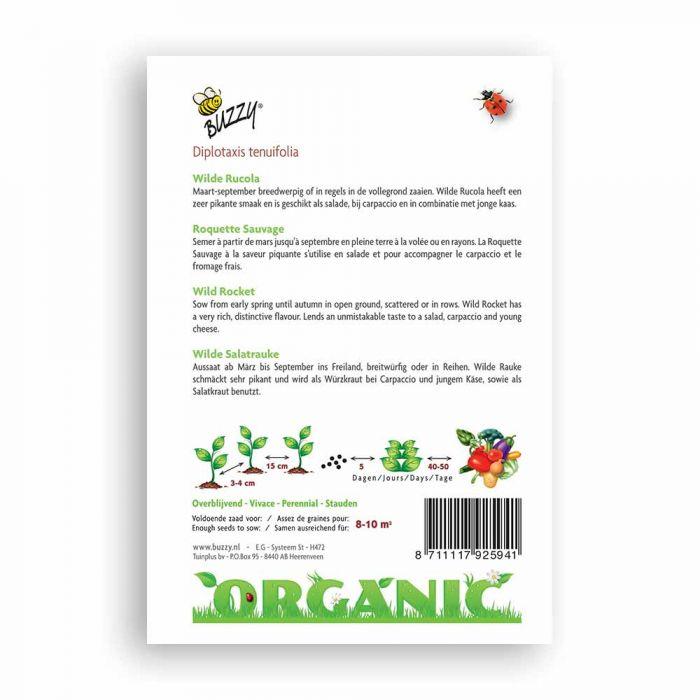 Buzzy® Organic Rucola Wild meerjarig (BIO)