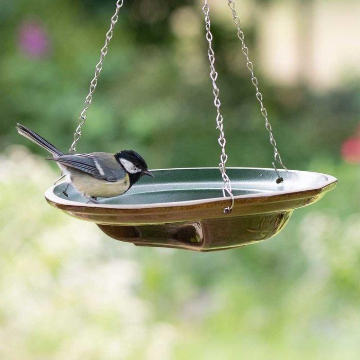 Hangend vogelbad