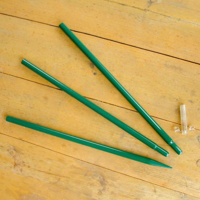 Combi-paal - groen