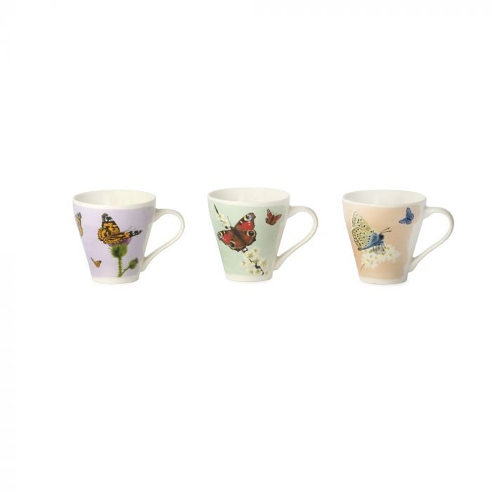 Myrte mokkenset vlinders