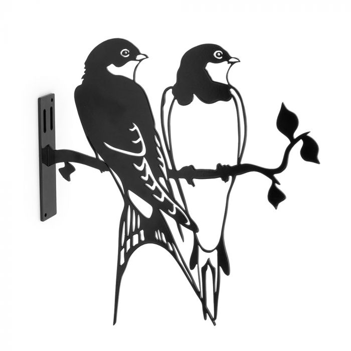 Metal Silhouette – Boerenzwaluw