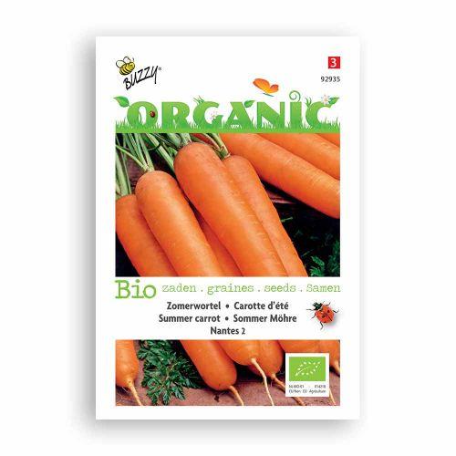 Buzzy® Organic Zomerwort Nantes 2 (BIO)