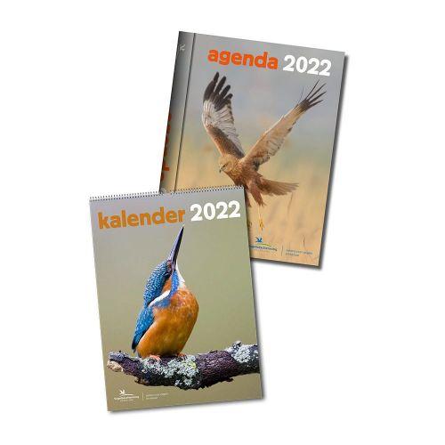 Vogelbescherming kalender & agende 2022 voordeelpakket
