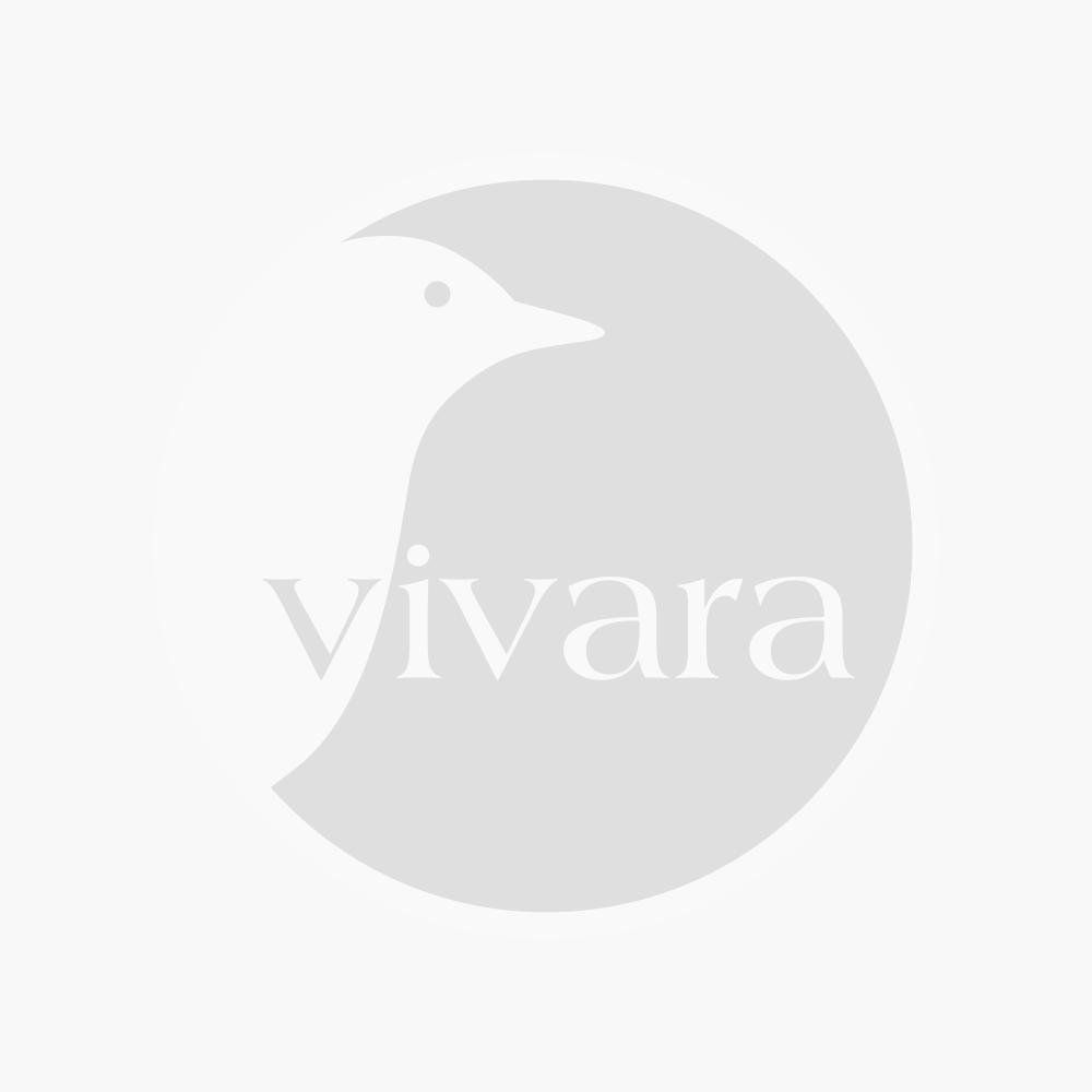 Nestkast Sevilla Woodstone ovale invliegopening (grijs)