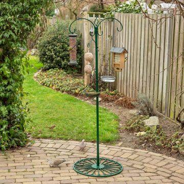 Voederpaalsysteem groen (terrasvoet)
