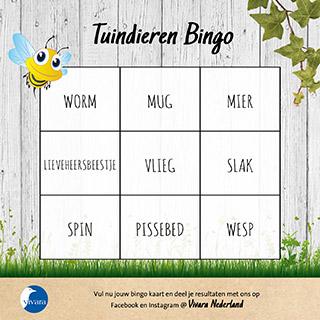 Tuindieren Bingo