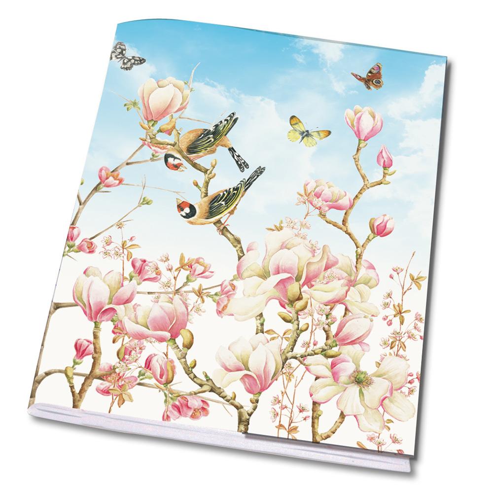 A5 Schrift Magnolia Janneke Brinkman
