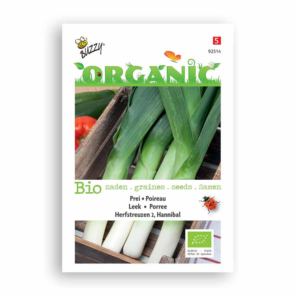 Buzzy® Organic Prei Herfstreuzen Hannibal (BIO)