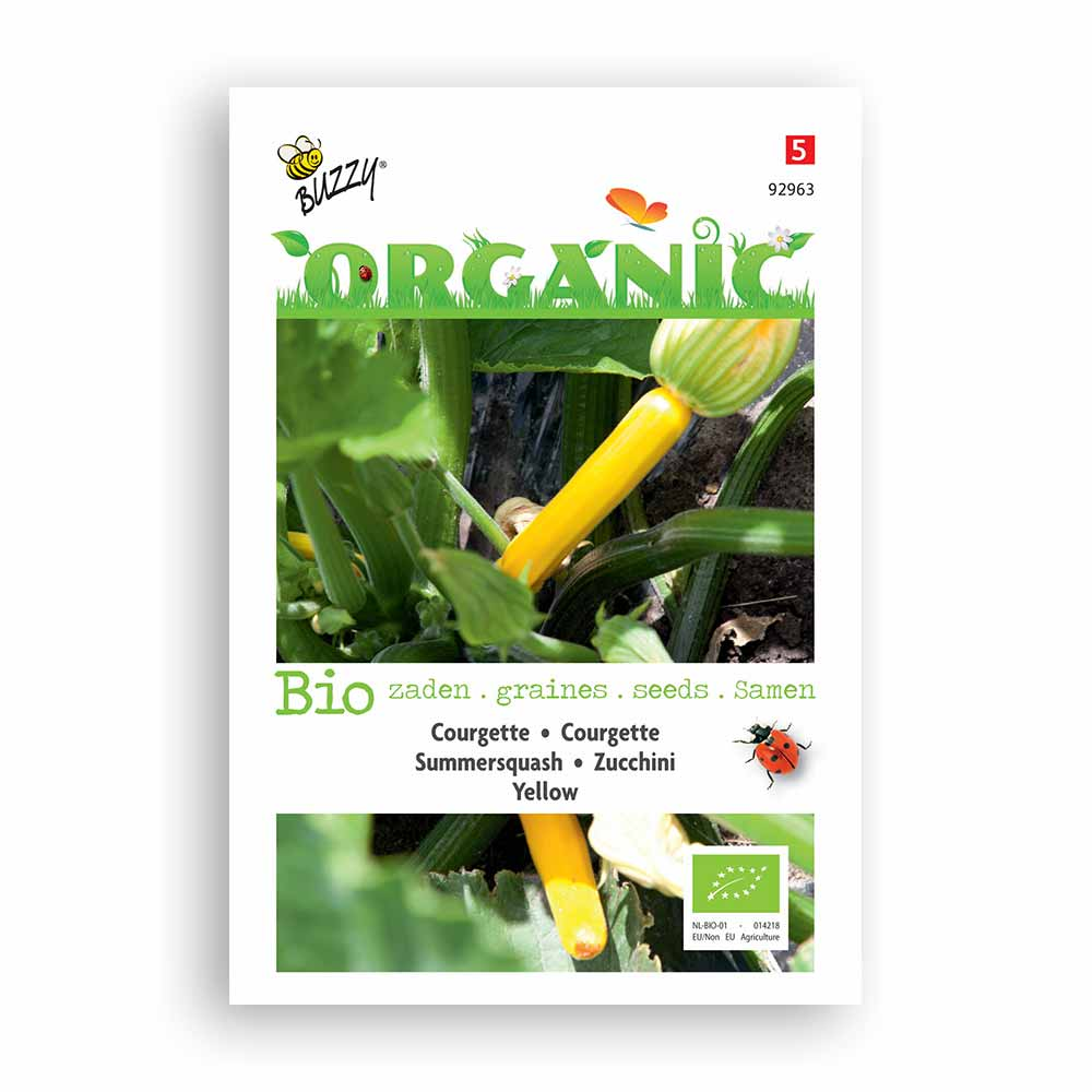 Buzzy� Organic Courgette geel (BIO)