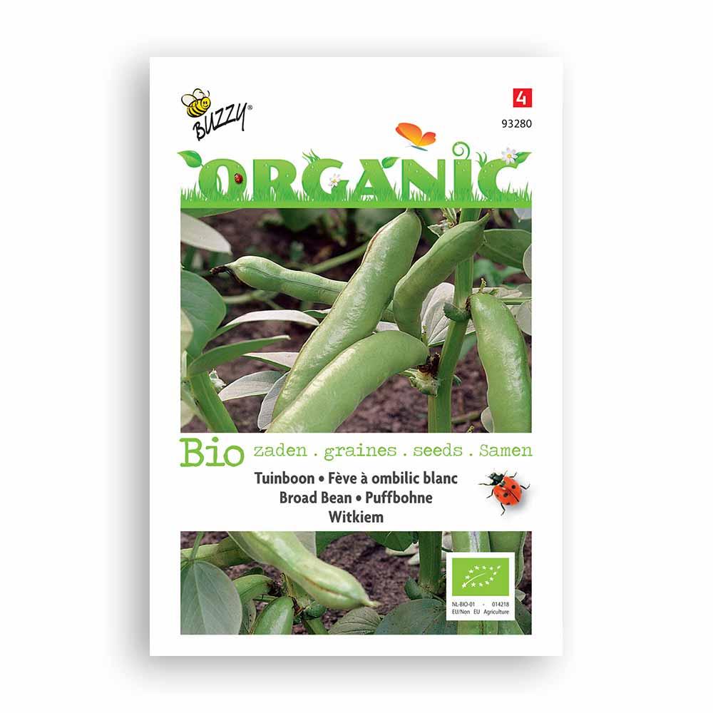 Buzzy� Organic Tuinbonen Witkiem (BIO)