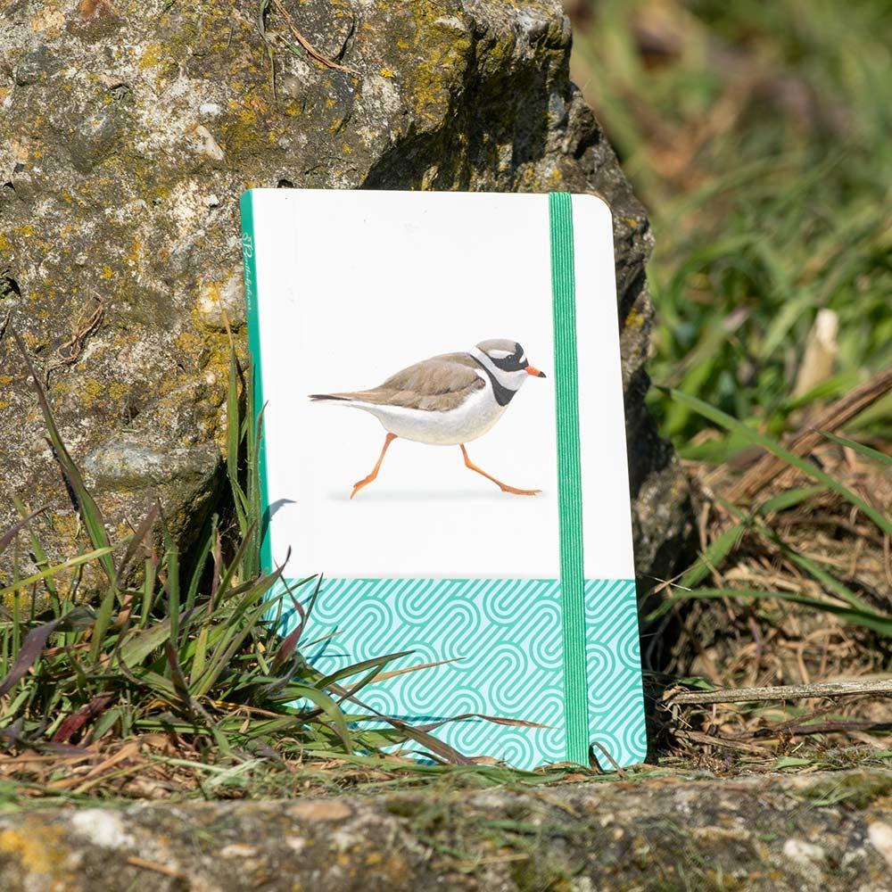 A6 Notitieboekje Bontbekplevier Elwin van der Kolk