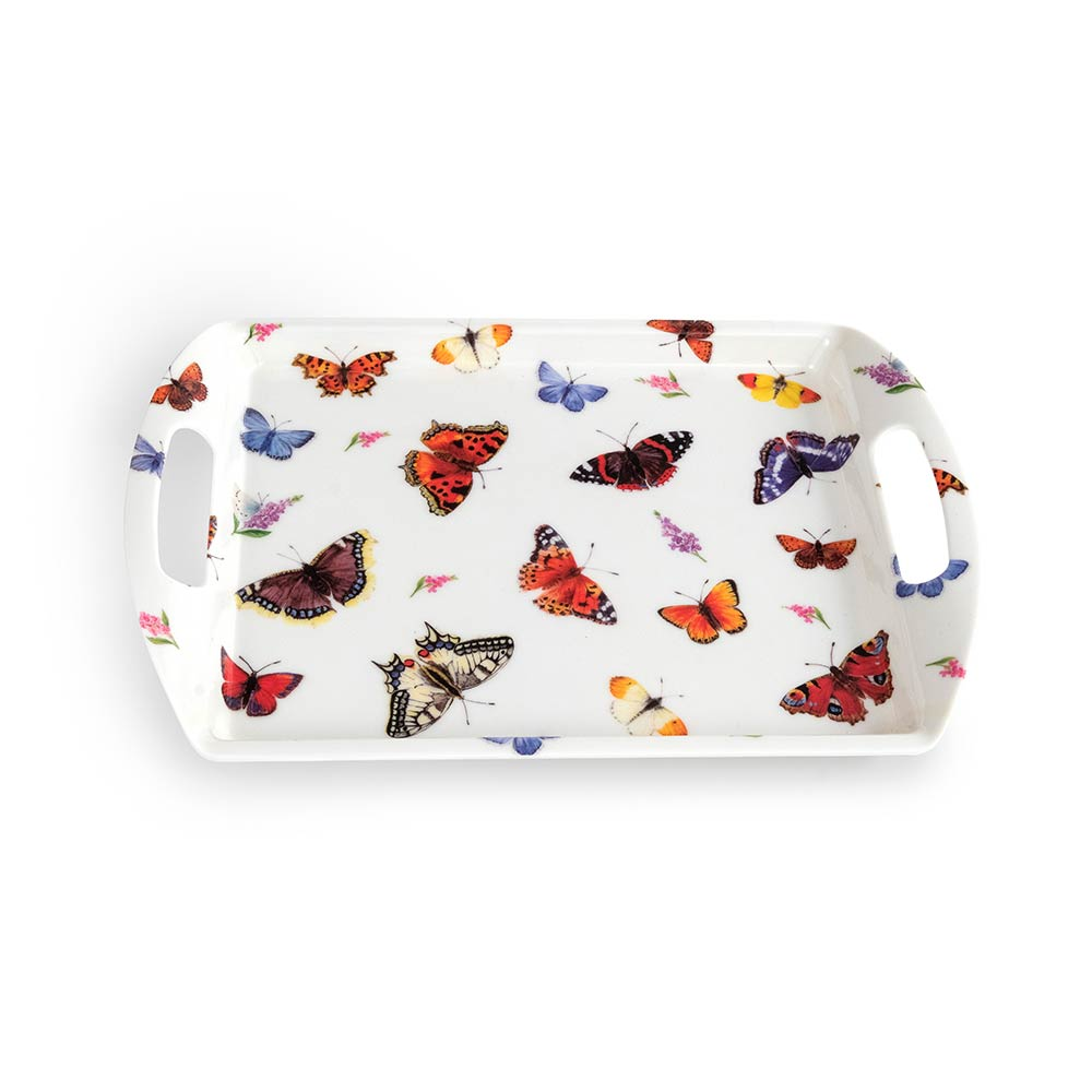 Dienblad Vlinders - Roy Kirkham
