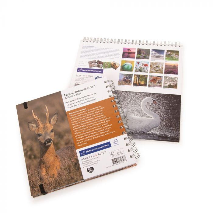 Voordeelpakket kalender en agenda Natuurmonumenten 2021