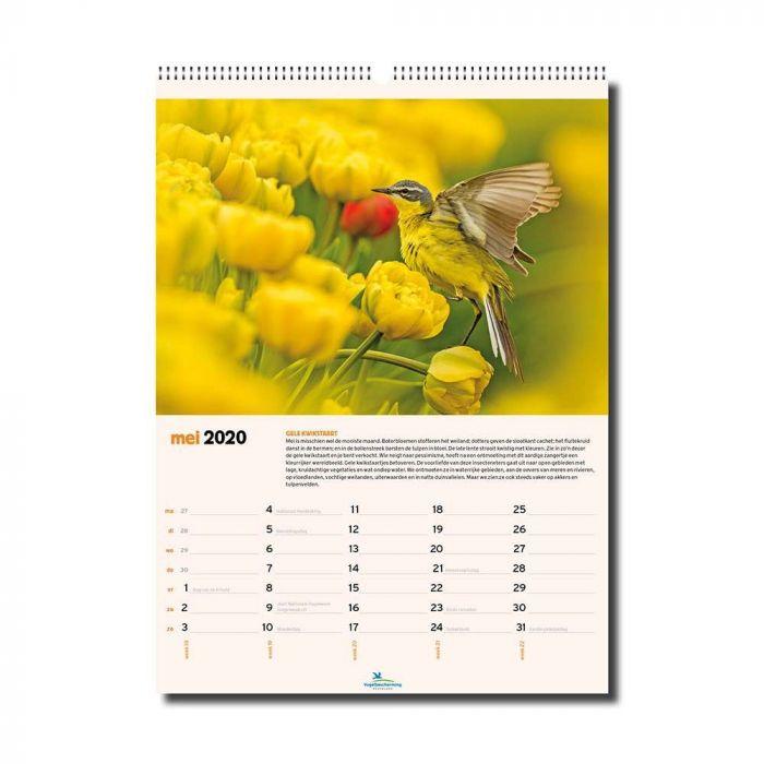 Vogelbescherming kalender 2020
