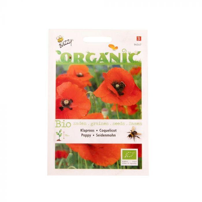 Buzzy® Organic Klaproos (BIO)