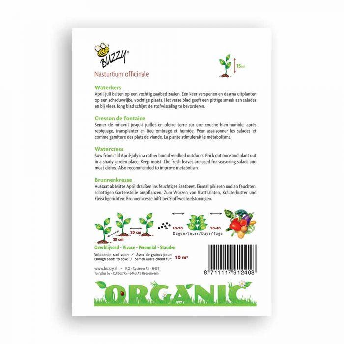 Buzzy® Organic Waterkers  (BIO)
