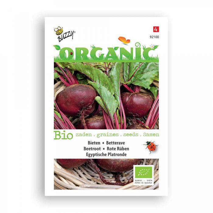 Buzzy® Organic Bieten Egyptische Platronde (BIO)