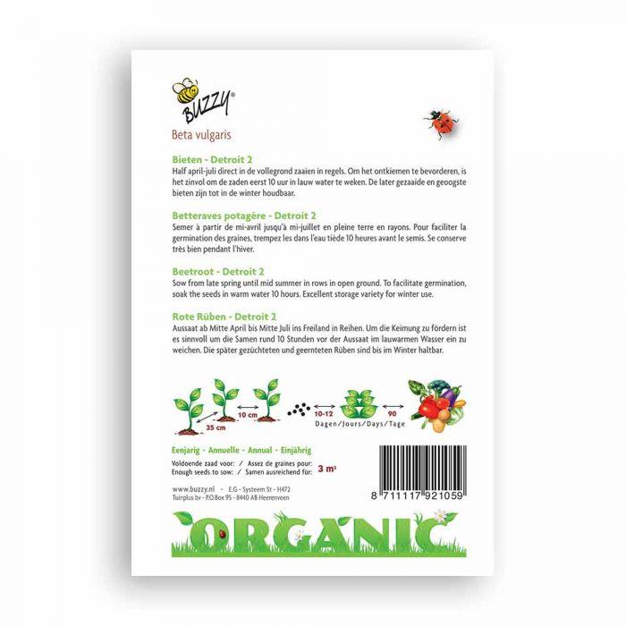 Buzzy® Organic Bieten Detroit (BIO)
