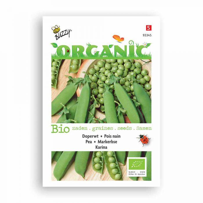 Buzzy® Organic Doperwt Karina (BIO)