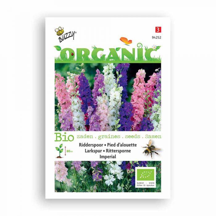 Buzzy® Organic Delphinium Imperial mix (BIO)