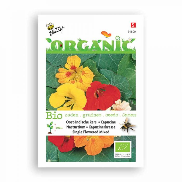 Buzzy® Organic Oost-Indische hoge kers gemengd (BIO)