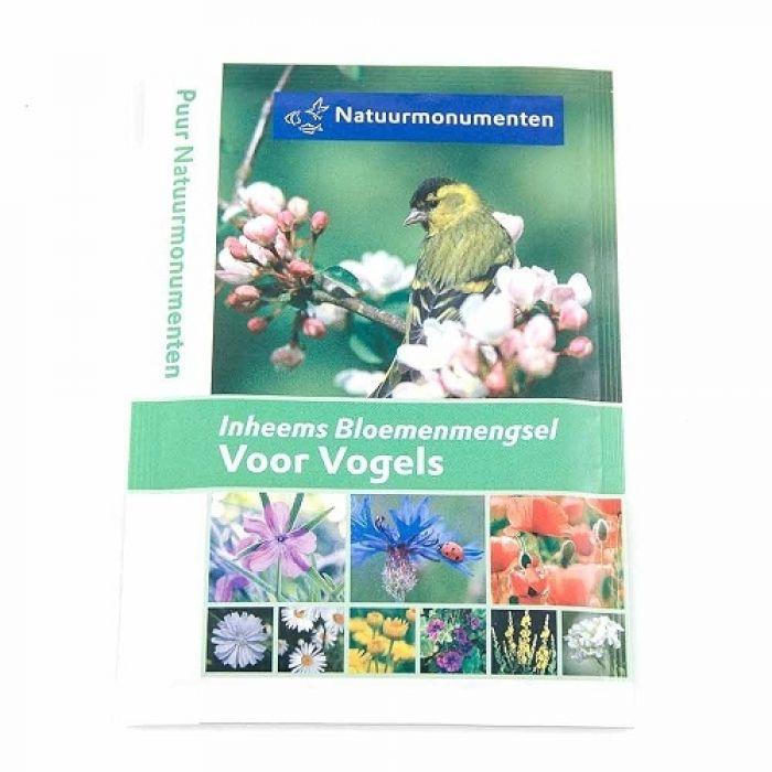 Natuurmonumenten bloemenmengsel voor vogels