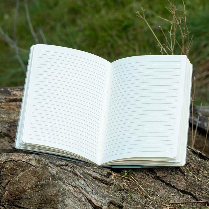 Elwin van der Kolk A5 Notitieboekje Winterkoning