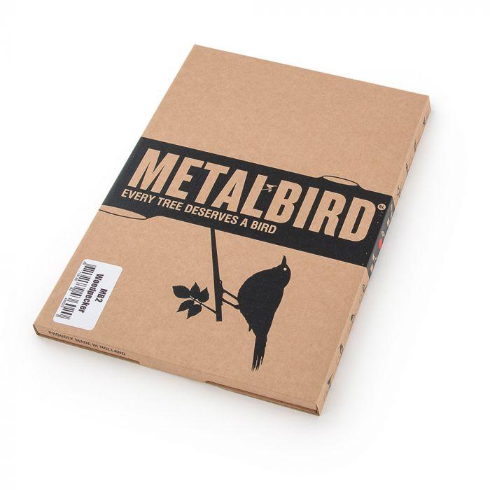 Metalbird grote bonte specht