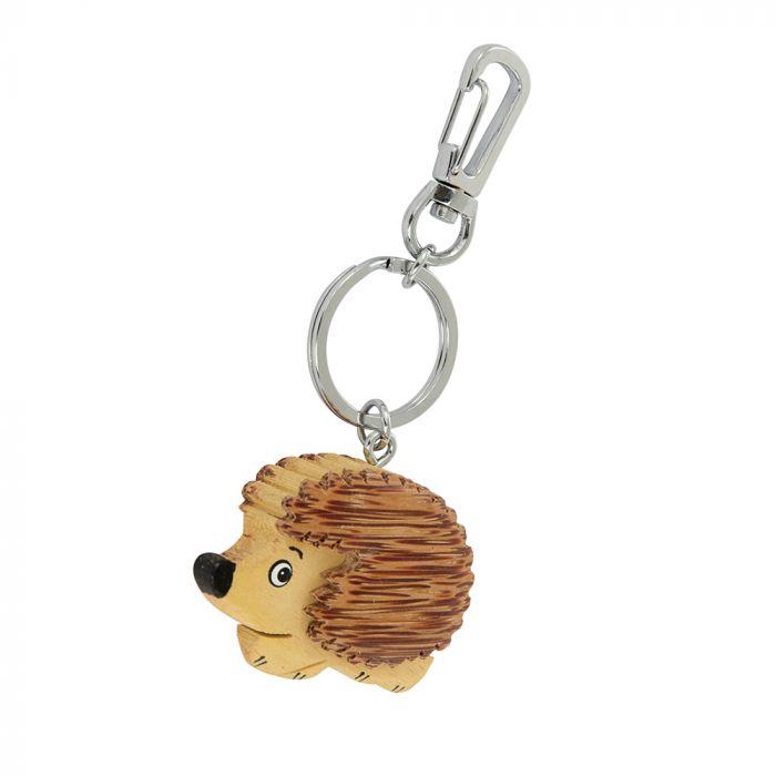Sleutelhanger hout egel