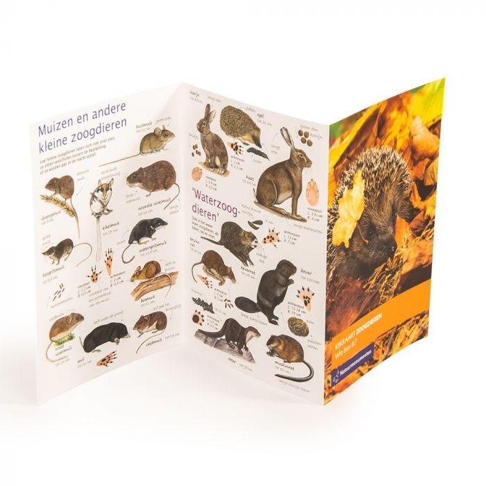 Natuurmonumenten kijkkaart Zoogdieren