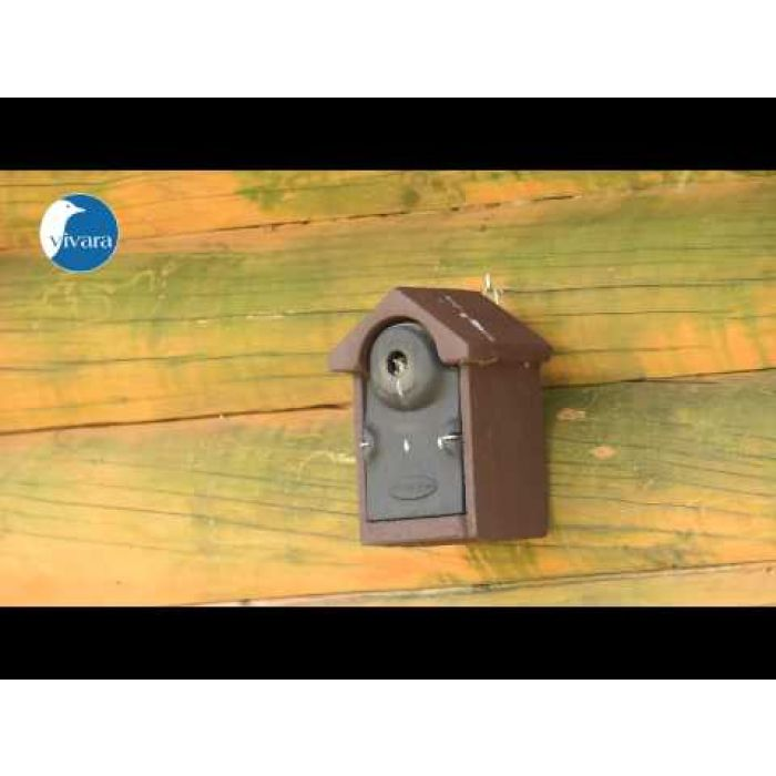 Nestkast Bilbao WoodStone bruin 28 mm