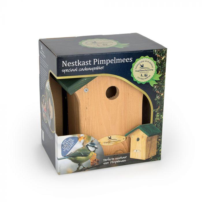 Nestkast voor de Pimpelmees 28 mm