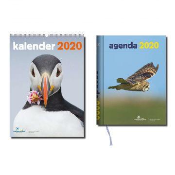 Vogelbescherming voordeelpakket agenda en kalender 2020