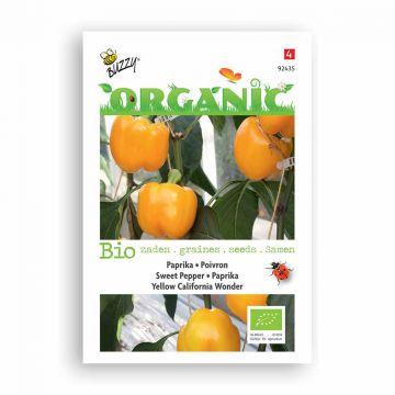 Buzzy® Organic Paprika geel California Wonder (BIO)