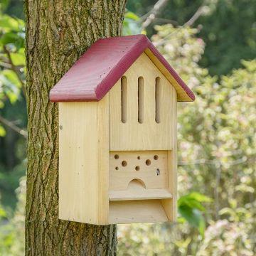 Vlinder- en bijenhotel