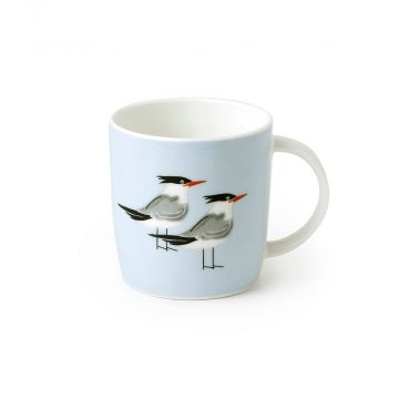 Mok met kustvogels - Roy Kirkham