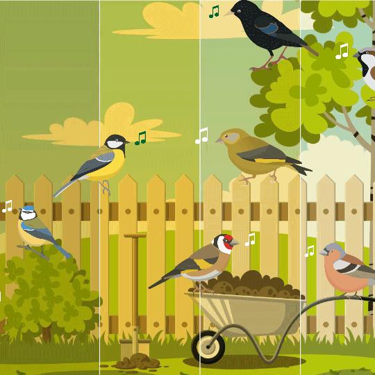Hoe laat zingen vogels?